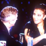 Tulisia and Louis Walsh Talk it out on the XFactor UK