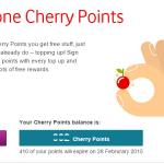 Vodafone Cherry Points