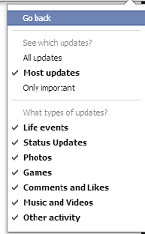 Facebook Graph Search Settings