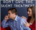 Silent Treatment with Argue and in anger of the mind